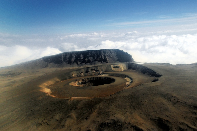 kili crater