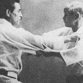 judo masters, jigoro kano and kyuso mifune grappling