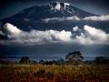 Kilimanjaro seen above the Serengeti
