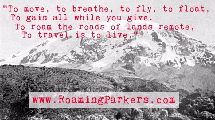 RoamingParkers HC Andersen quote