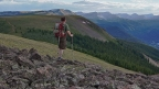 A Continental Divide hike in 4 minutes